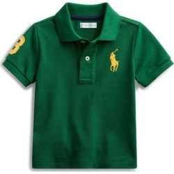 Ralph Lauren Cotton Piqué Polo Shirt in New Forest - Size 18M found on Bargain Bro India from Ralph Lauren for $14.99
