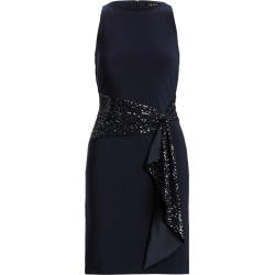 Ralph Lauren Sequined-Sash Jersey Dress in Lighthouse Navy found on Bargain Bro India from Ralph Lauren for $175.00