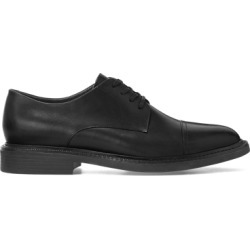 Ralph Lauren Asher Leather Cap Toe Shoe in Black - Size 14 found on Bargain Bro from Ralph Lauren for USD $140.60