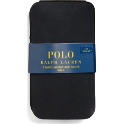 Ralph Lauren Tights 2-Pack in Black - Size 4-6X