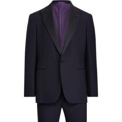 Ralph Lauren Gregory Peak-Lapel Tuxedo in Navy - Size 46 found on Bargain Bro from Ralph Lauren for USD $2,504.20