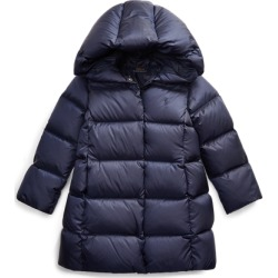Ralph Lauren Quilted Down Long Coat in French Navy - Size 4T found on Bargain Bro India from Ralph Lauren for $109.99