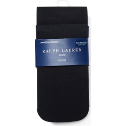 Ralph Lauren Microfiber Tights 2-Pack in Black - Size 0-6M found on Bargain Bro India from Ralph Lauren for $16.00