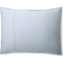 Ralph Lauren Graydon Mélange Sham in Chambray - Size King found on Bargain Bro from Ralph Lauren for USD $60.79