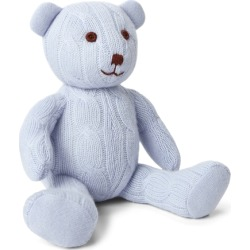 Ralph Lauren Small Cable Cashmere Bear in Pearl Blue - Size One Size found on Bargain Bro India from Ralph Lauren for $195.00