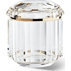 Ralph Lauren Leigh Clear Crystal Jar in Clear/Brass - Size Medium found on Bargain Bro from Ralph Lauren for USD $300.20