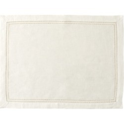 Ralph Lauren Kenmore Place Mat in Cream - Size One Size found on Bargain Bro Philippines from Ralph Lauren for $25.00