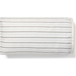 Ralph Lauren Taylor Pillowcase Set in Cream And Charcoal - Size Queen
