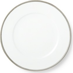 Ralph Lauren Wilshire Dinner Plate in Silver/White - Size One Size found on Bargain Bro from Ralph Lauren for USD $41.80