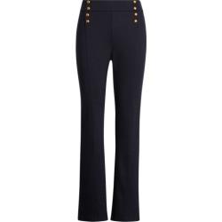 Ralph Lauren Button-Trim Ponte Pant in Lauren Navy - Size XS found on Bargain Bro Philippines from Ralph Lauren for $99.50