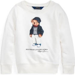 Ralph Lauren Polo Bear French Terry Sweatshirt in Nevis - Size 3T found on Bargain Bro from Ralph Lauren for USD $18.23