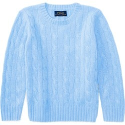 Ralph Lauren Cable-Knit Cashmere Sweater in New Litchfield Blue - Size 4T/5T found on Bargain Bro from Ralph Lauren for USD $171.00