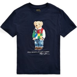 Ralph Lauren Polo Bear Cotton Jersey Tee in Cruise Navy - Size L found on Bargain Bro from Ralph Lauren for USD $19.75