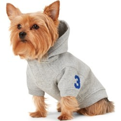 Ralph Lauren Fleece Dog Hoodie in Dark Sport Heather - Size L found on Bargain Bro Philippines from Ralph Lauren for $65.00