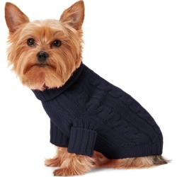 Ralph Lauren Cable Cashmere Dog Sweater in French Navy - Size XL found on Bargain Bro Philippines from Ralph Lauren for $150.00