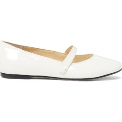 Ralph Lauren Alyssa Leather Mary Jane in White Patent Leather - Size 10.5 found on Bargain Bro Philippines from Ralph Lauren for $98.00