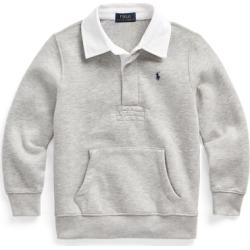 Ralph Lauren Rugby Sweatshirt in Andover Heather - Size 3T found on Bargain Bro from Ralph Lauren for USD $18.99