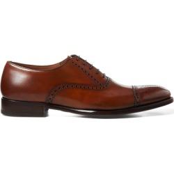 Ralph Lauren Denver Cap-Toe Shoe in Tan - Size 7.5 found on Bargain Bro from Ralph Lauren for USD $950.00