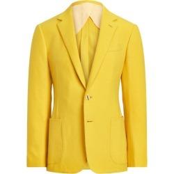 Ralph Lauren Kent Handmade Cashmere Sport Coat in Classic Lemon Yellow - Size 42 found on Bargain Bro from Ralph Lauren for USD $4,176.20