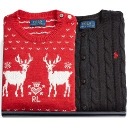 Ralph Lauren Sweater 2-Piece Gift Set in Multi - Size 6