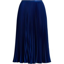 Ralph Lauren Pleated Midi Skirt in Holiday Navy found on Bargain Bro India from Ralph Lauren for $268.00