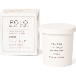 Ralph Lauren Single-Wick Suede Candle in Cream - Size One Size