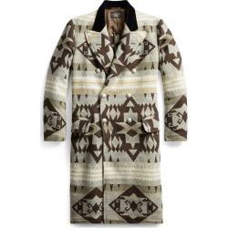Ralph Lauren Velvet-Collar Topcoat in Grey/Brown - Size M found on Bargain Bro Philippines from Ralph Lauren for $969.00