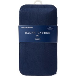 Ralph Lauren Tights 2-Pack in Navy - Size 4-6X found on Bargain Bro from Ralph Lauren for USD $12.16