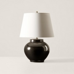 Ralph Lauren Carter Small Table Lamp in Black - Size One Size found on Bargain Bro Philippines from Ralph Lauren for $799.00