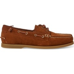 Ralph Lauren Merton Suede Boat Shoe in New Snuff - Size 9.5 found on Bargain Bro from Ralph Lauren for USD $102.60