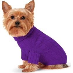Ralph Lauren Cable Cashmere Dog Sweater in Royal Lilac - Size M found on Bargain Bro Philippines from Ralph Lauren for $150.00