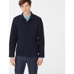 Club Monaco Midnight Navy Twill Workwear Jacket in Size XXL found on Bargain Bro India from Club Monaco Canada for $110.36