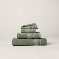 Ralph Lauren Wilton Towels & Mat in Spruce Green - Size Wash Cloth found on Bargain Bro from Ralph Lauren for USD $7.59