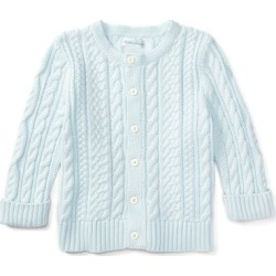 Ralph Lauren Cotton Cable Cardigan in Pearl Blue - Size 9M found on Bargain Bro Philippines from Ralph Lauren for $75.00