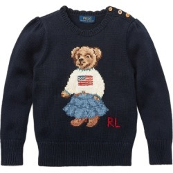 Ralph Lauren Polo Bear Cotton Sweater in Hunter Navy - Size 5 found on Bargain Bro from Ralph Lauren for USD $102.60