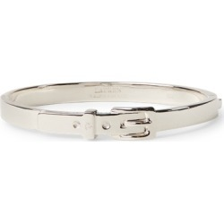 Ralph Lauren Sterling Silver Buckle Hinged Bracelet in Silver - Size One Size found on Bargain Bro from Ralph Lauren for USD $127.68