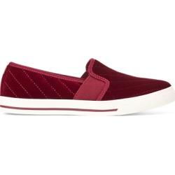 Ralph Lauren Jinny Velvet Slip-On Sneaker in Merlot - Size 11 found on Bargain Bro Philippines from Ralph Lauren for $60.00