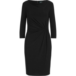 Ralph Lauren Twisted-Knot Jersey Dress in Black found on Bargain Bro India from Ralph Lauren for $109.00