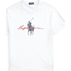 Ralph Lauren Classic Fit Big Pony Logo Jersey T-Shirt in White - Size XS found on Bargain Bro India from Ralph Lauren for $55.00