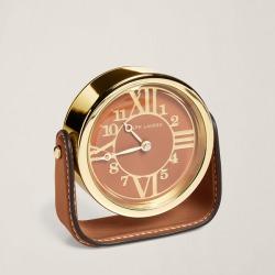Ralph Lauren Brennan Clock in Saddle - Size One Size