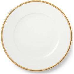 Ralph Lauren Wilshire Dinner Plate in Gold/White - Size One Size found on Bargain Bro from Ralph Lauren for USD $41.80
