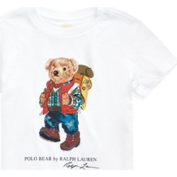 Ralph Lauren Polo Bear Cotton Jersey Tee in White - Size 7 found on Bargain Bro from Ralph Lauren for USD $13.67