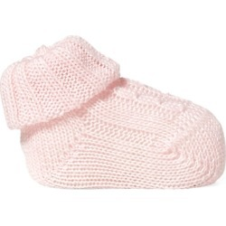 Ralph Lauren Cable-Knit Cotton-Blend Bootie in Pink - Size 0-3M found on Bargain Bro Philippines from Ralph Lauren for $30.00