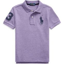 Ralph Lauren Cotton Mesh Polo Shirt in Safari Purple Heather - Size 6 found on Bargain Bro India from Ralph Lauren for $16.99