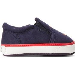 Ralph Lauren Bal Harbour II Polo Bear Sneaker in Navy - Size 3 (6-9 MOS) found on Bargain Bro India from Ralph Lauren for $45.00