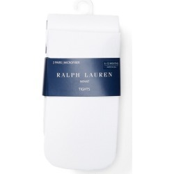 Ralph Lauren Tights 2-Pack in White - Size 0-6M found on Bargain Bro Philippines from Ralph Lauren for $16.00