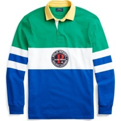 Ralph Lauren Classic Fit Rugby Shirt in Chroma Green Multi - Size XXL found on Bargain Bro Philippines from Ralph Lauren for $168.00