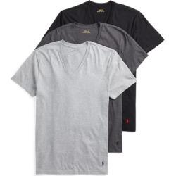 Ralph Lauren Classic V-Neck 3-Pack in Grey, Dark Grey & Black - Size S found on Bargain Bro from Ralph Lauren for USD $32.30