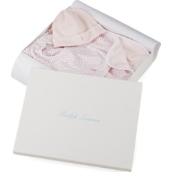 Ralph Lauren Floral 3-Piece Gift Box Set in Delicate Pink - Size One Size found on Bargain Bro India from Ralph Lauren for $50.00