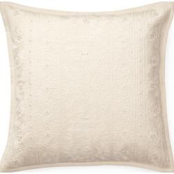 "Ralph Lauren Darlene Throw Pillow in Cream - Size 20""x20"""